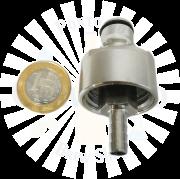 Carbonatador (carbonator) para garrafas PET em Inox
