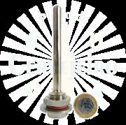 Kit Poço Térmico (termométrico) em Inox 10 cm