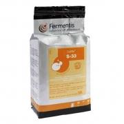 Levedura Fermento Fermentis S-33 500g