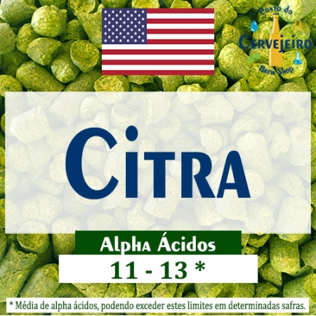 Lupulo Citra (Barth Hass) Pellet T90 - 50g