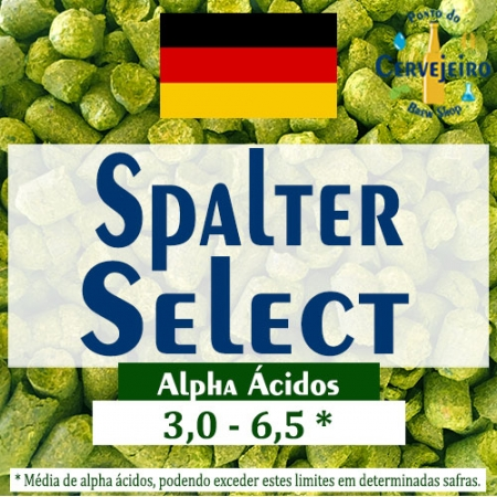 Lupulo Spalter Select (Barth Hass) Pellet T90 - 50g