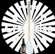 Pá cervejeira / Espátula Industrial / Colher Grande (100 cm)