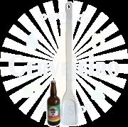 Pá cervejeira / Espátula Industrial / Colher Média (75 cm)