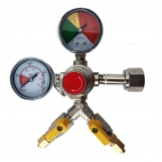 Regulador de Pressao para CO2 -  2 vias