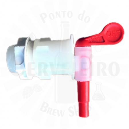Torneira Plastica Modelo 28E rosca macho 3/4