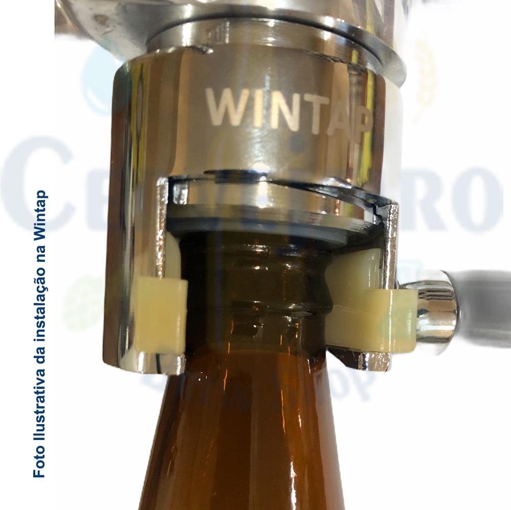 Adaptador torneira Wintap para garrafas de vidro