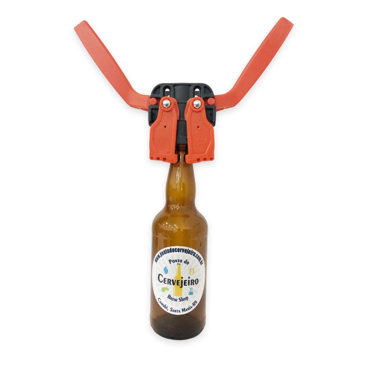Arrolhador de Garrafa de Cerveja Kelly para Tampinhas 26mm