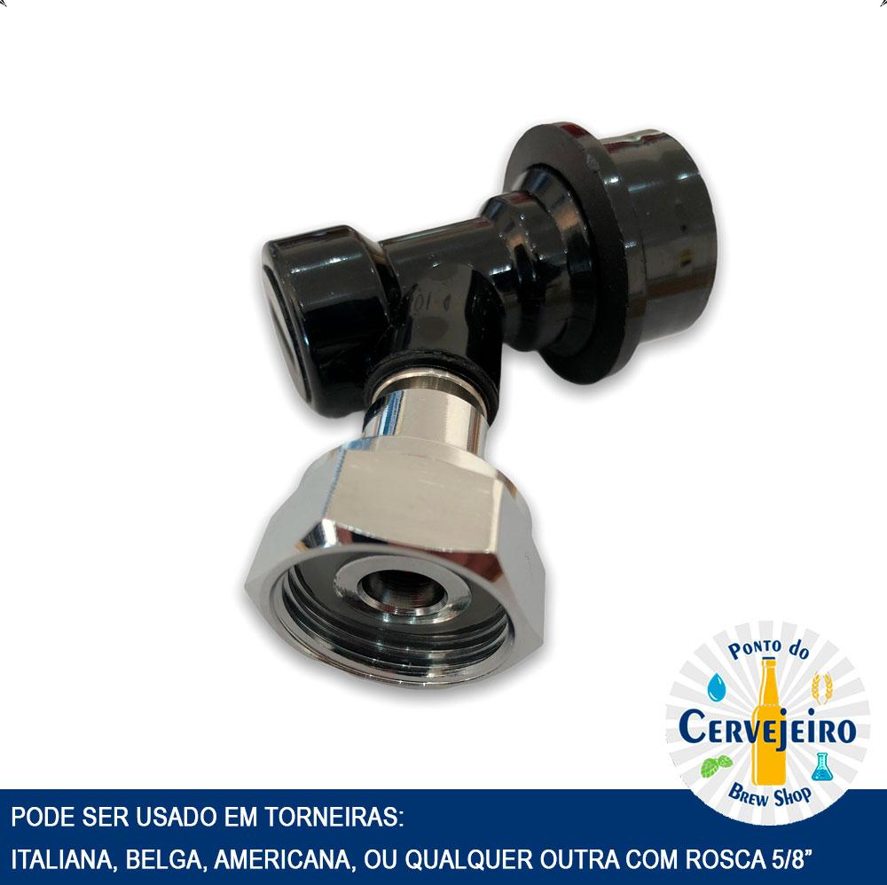 Ball Lock para torneira Italiana Belga Americana Rosca 5/8