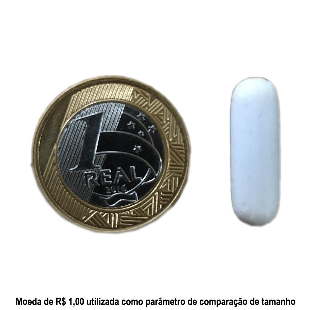 Barra Magnética Branca (Peixinho) 7 X 25 MM