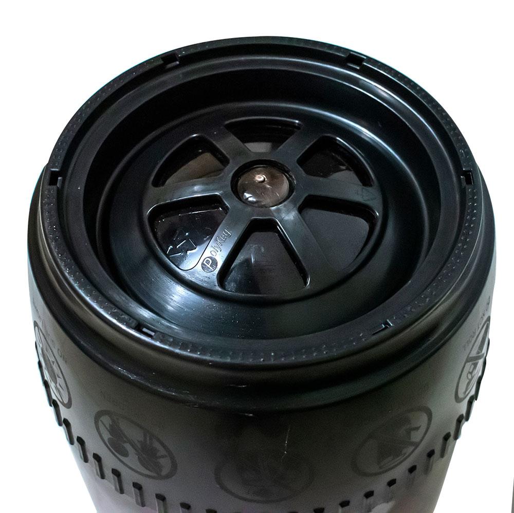 Barril Plástico Polykeg 20L com válvula padrão S
