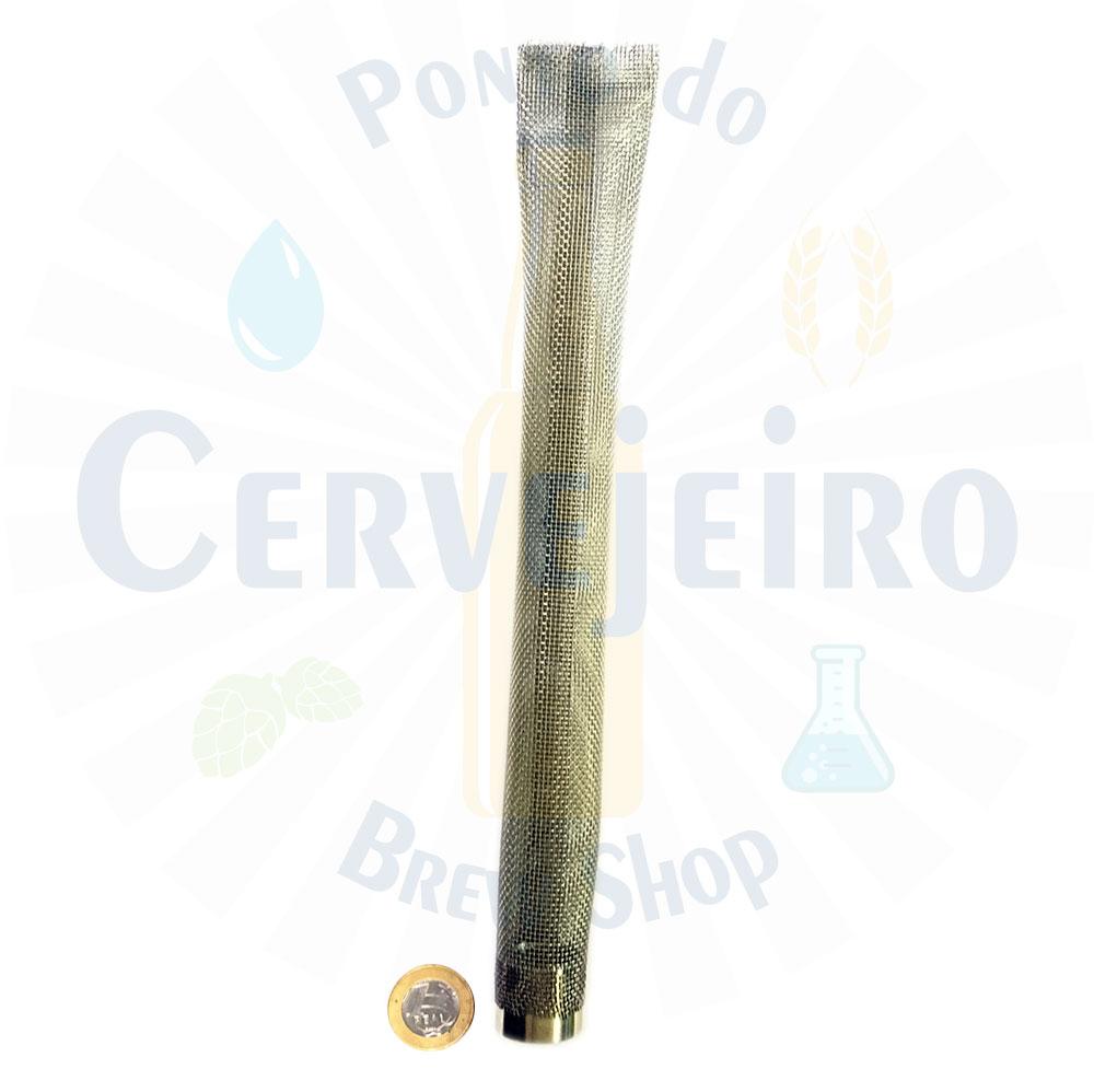 Bazooka (bazuca, bazuka) de inox 304 de 30 CM - 1/2 FNPT, tela 16