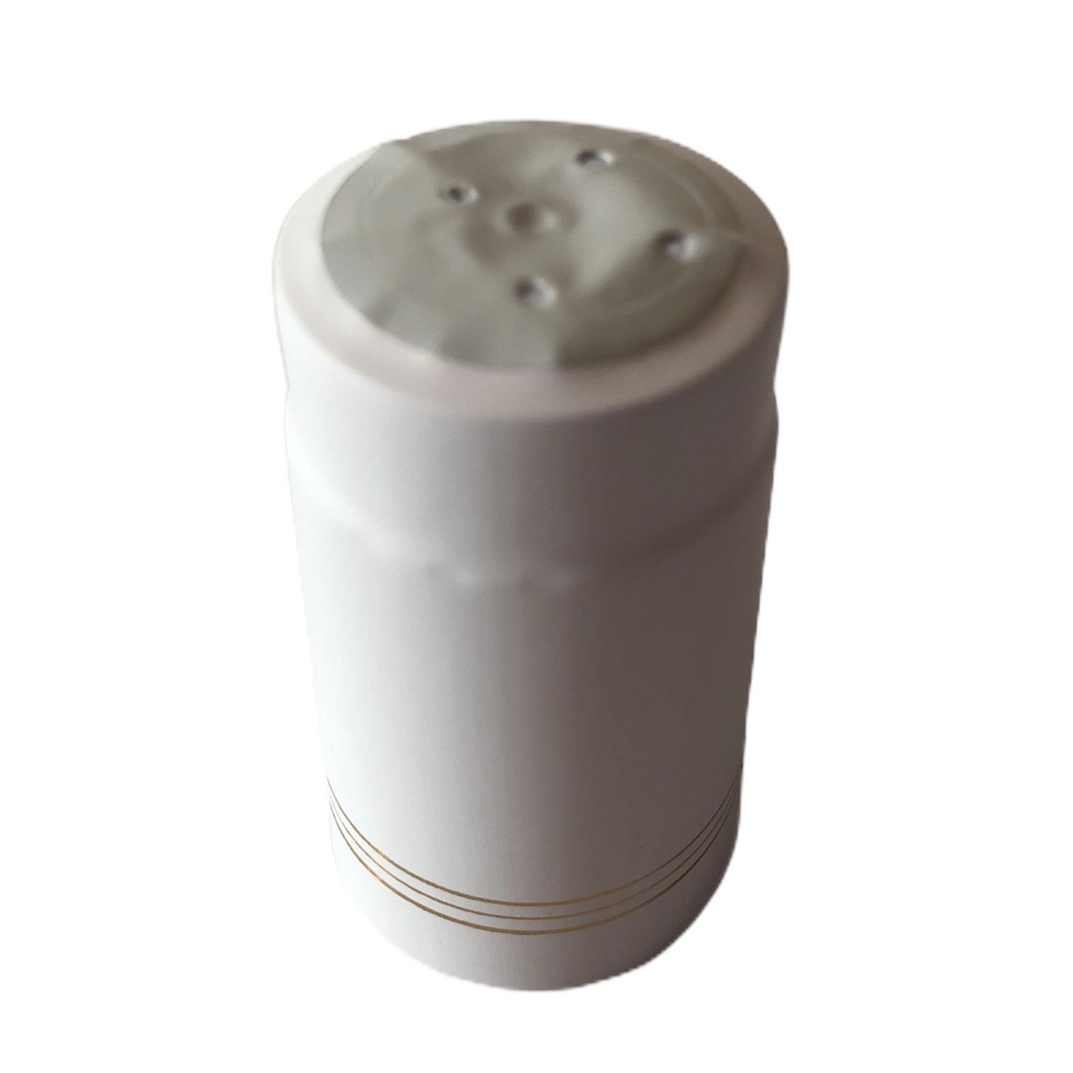 Cápsula Termo Retrátil Branca - 50 Un