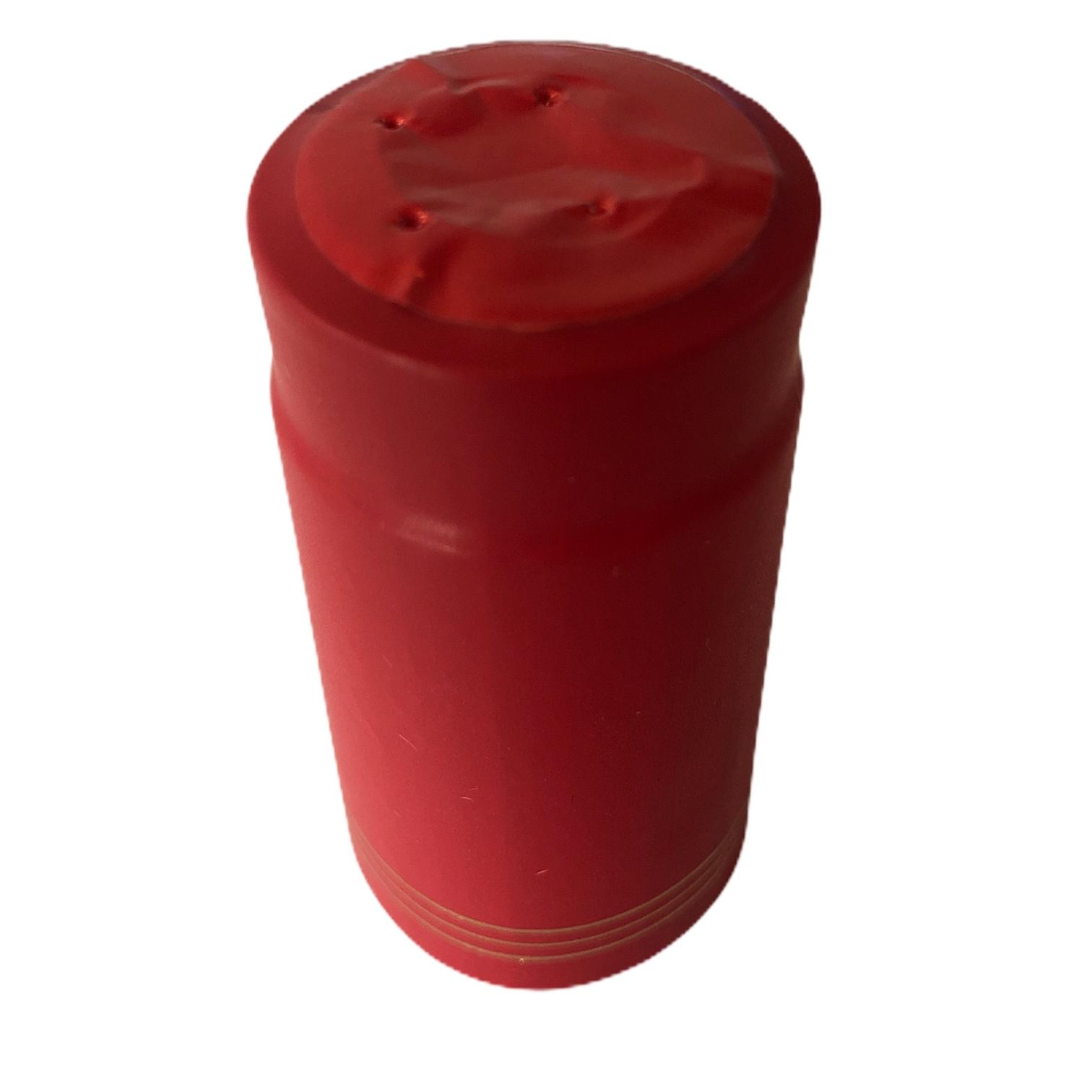Cápsula Termo Retrátil Vermelha- 50 Un