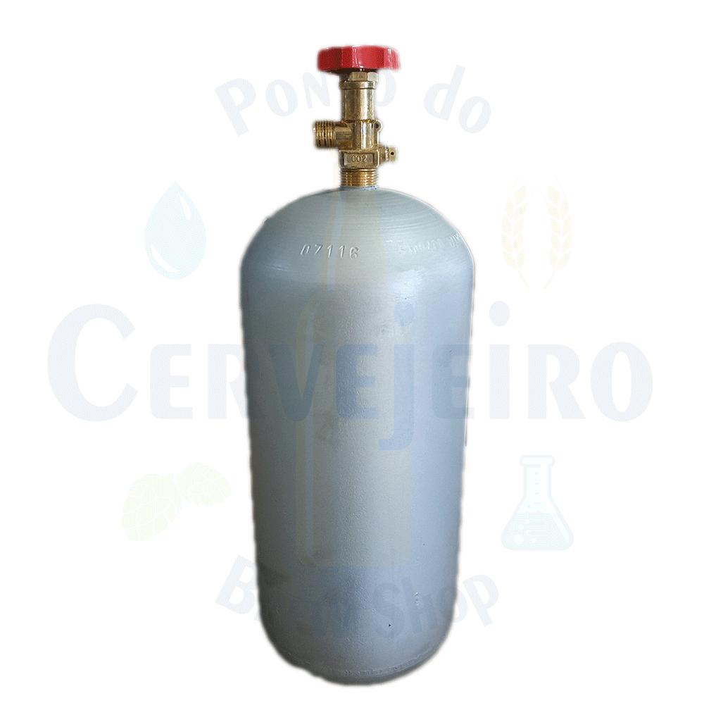 Cilindro de CO2 4kg - Ferro