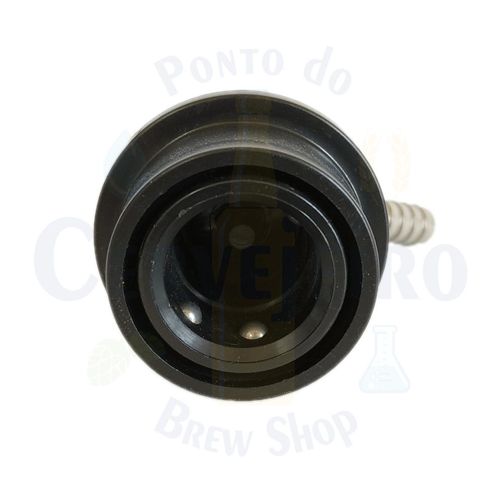 """Conector Ball Lock para liquido, espigao 1/4"""""""