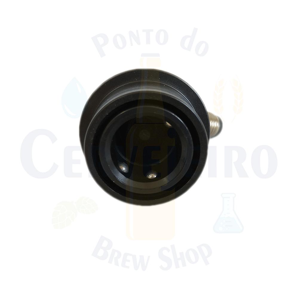 """Conector Ball Lock para liquido, rosca 7/16"""""""