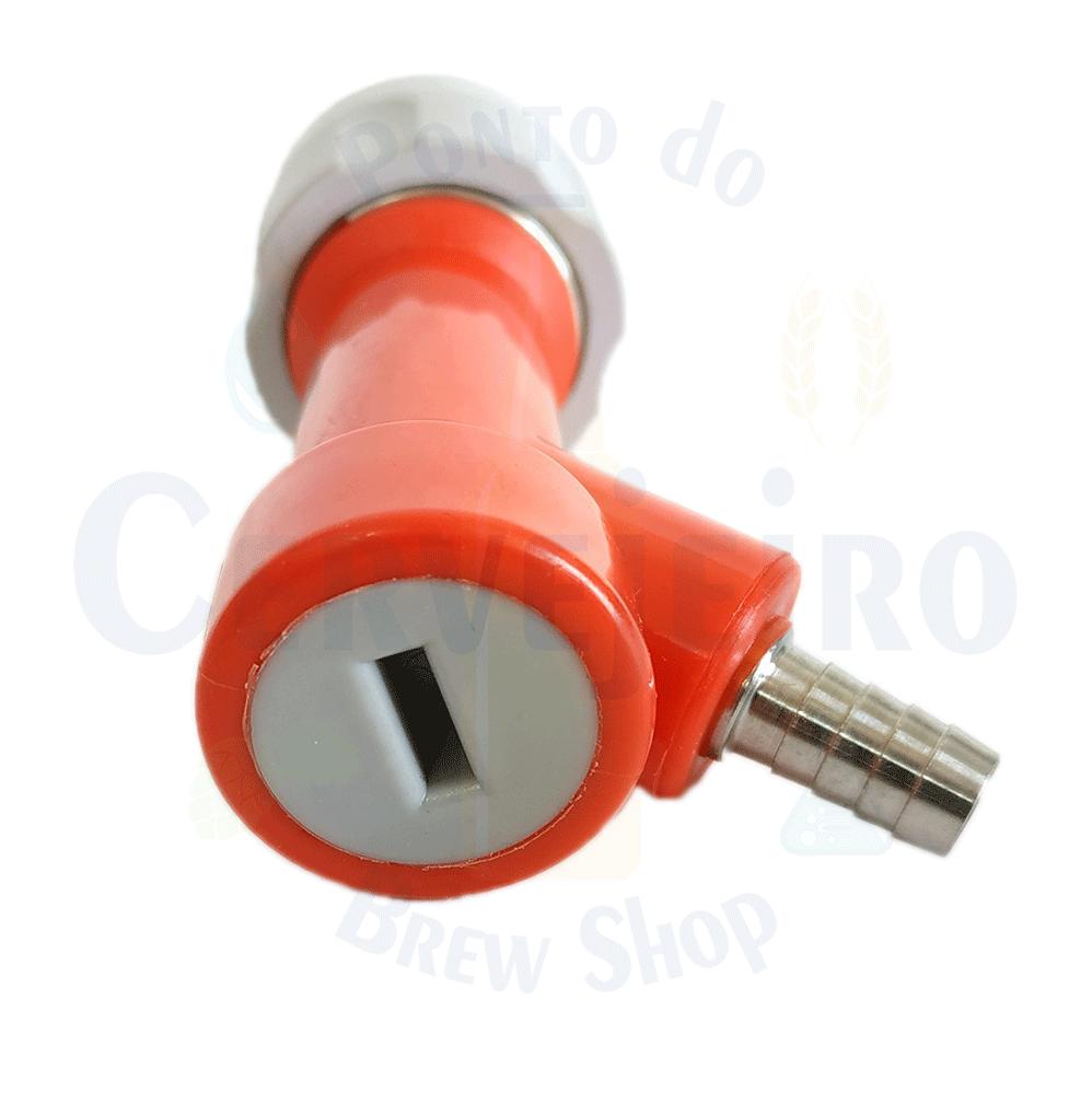 """Conector Pin Lock para gas, espigao 1/4"""""""