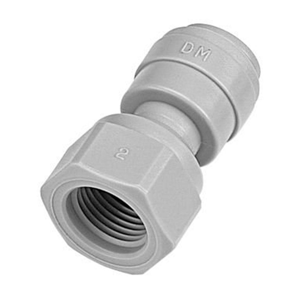 DMFIT - Conexão Engate Rápido tubo 3/8 x 1/4 Fêmea NPT