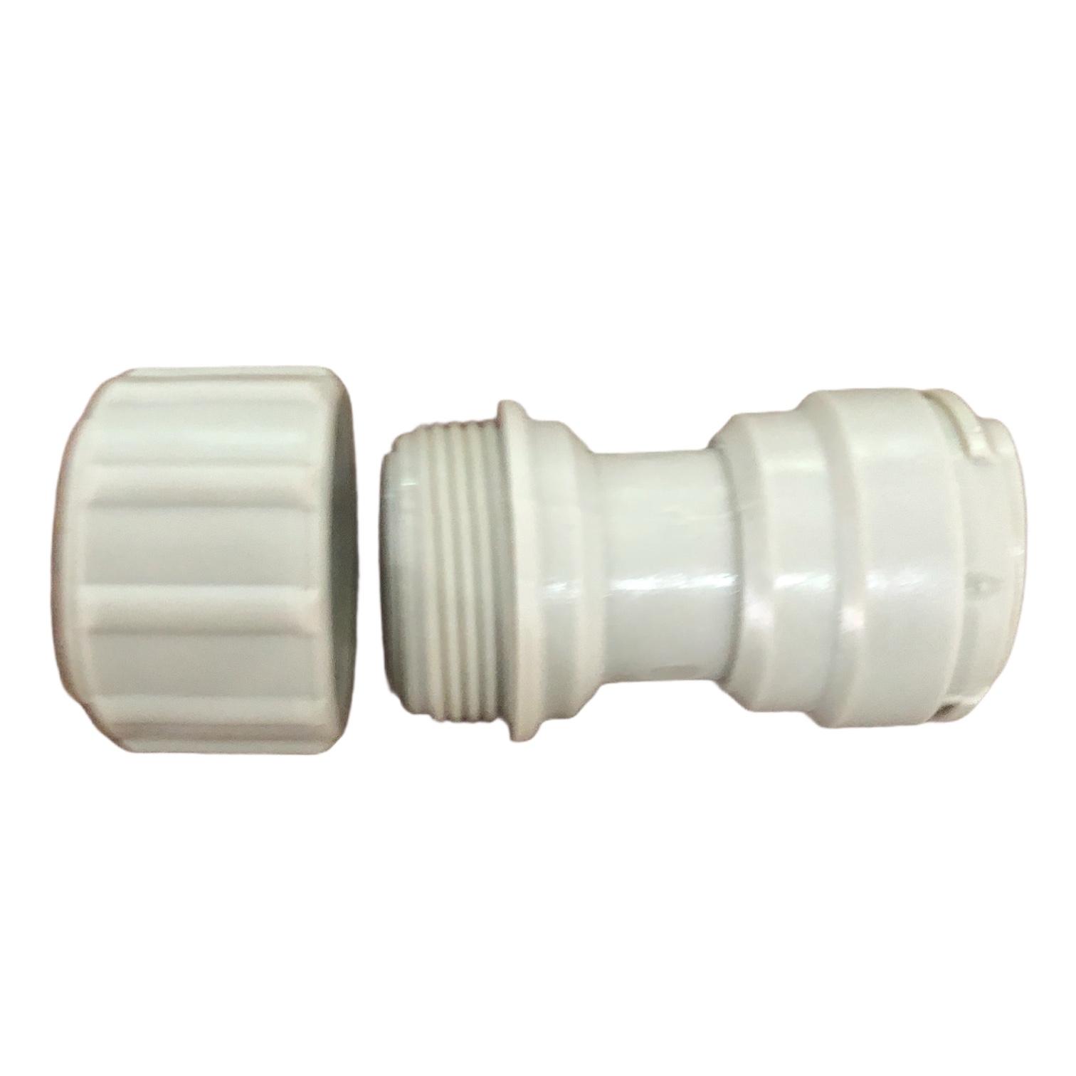 DMFIT - Conexao Engate Rapido tubo X Inox 3/8 x 3/8 Chopp