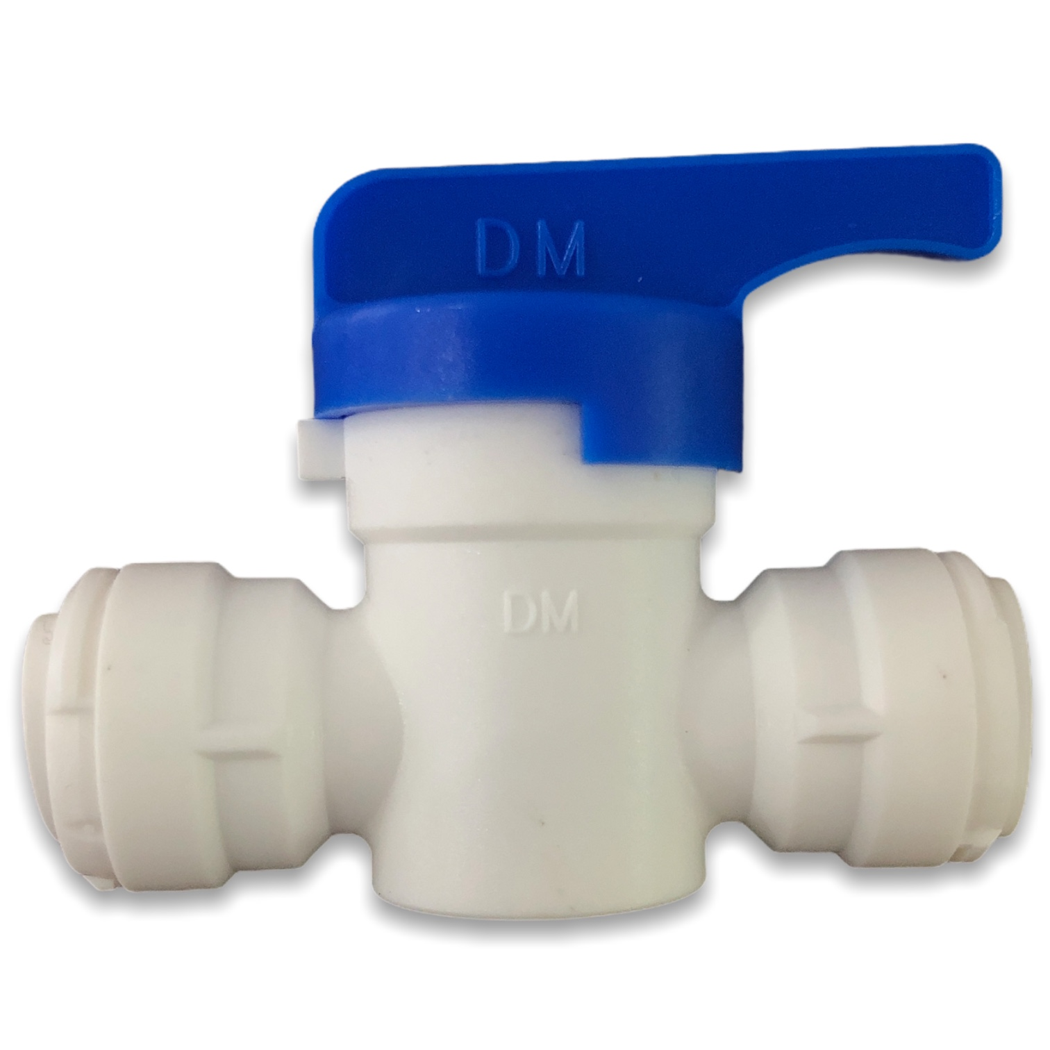DMFIT - Válvula manual com união tubo 3/8 x tubo 3/8
