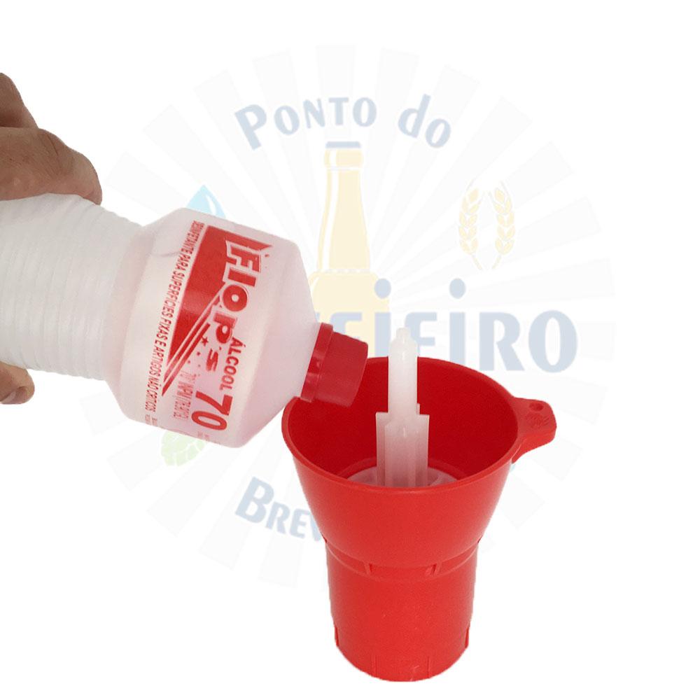 Escorredor prático fixo para 50 garrafas + Lavadora Spin