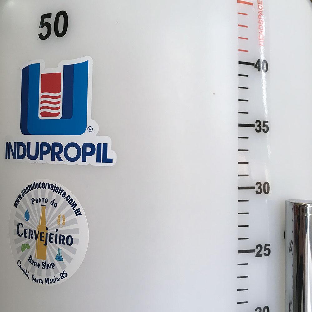 Fermentador Conico Rotomoldado 50 Litros Completo