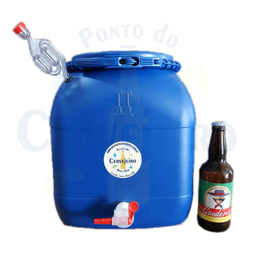 Fermentador/maturador Bombona 30 Litros Completa C/ Torneira