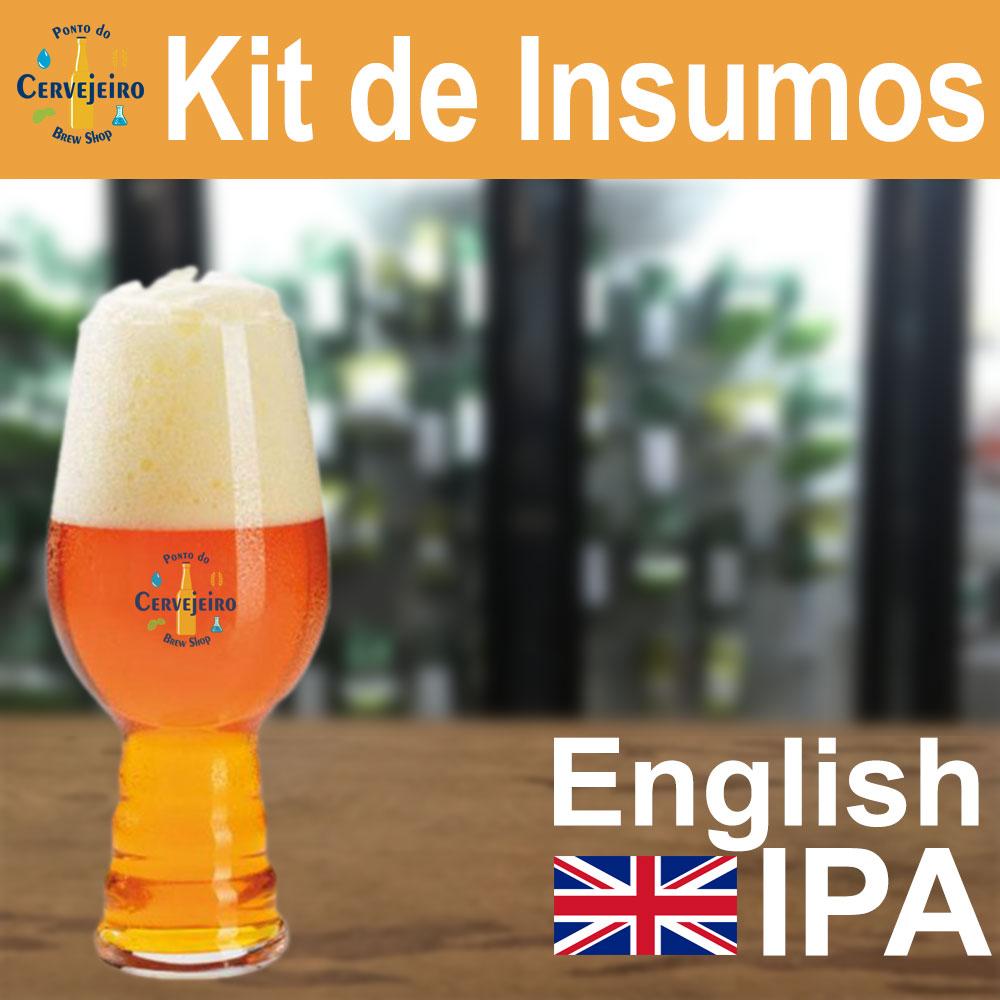 Kit Insumos English IPA