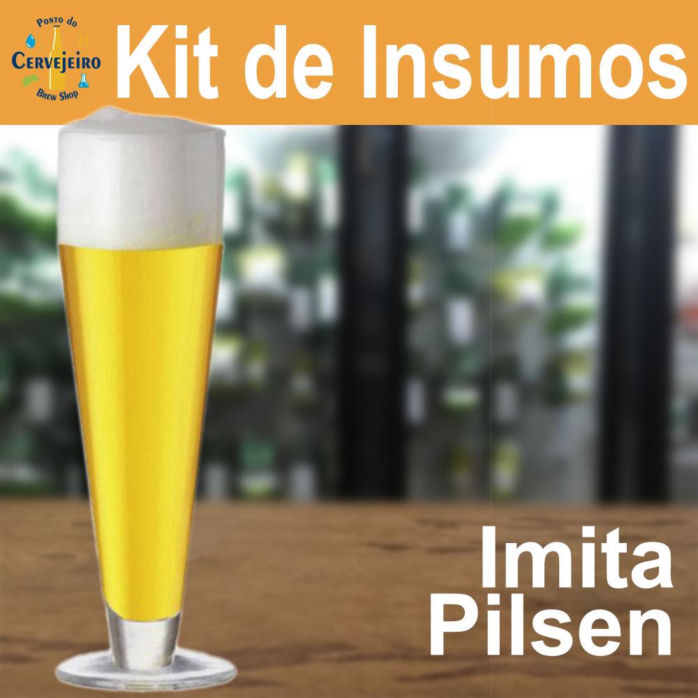 Kit Insumos Imita Pilsen
