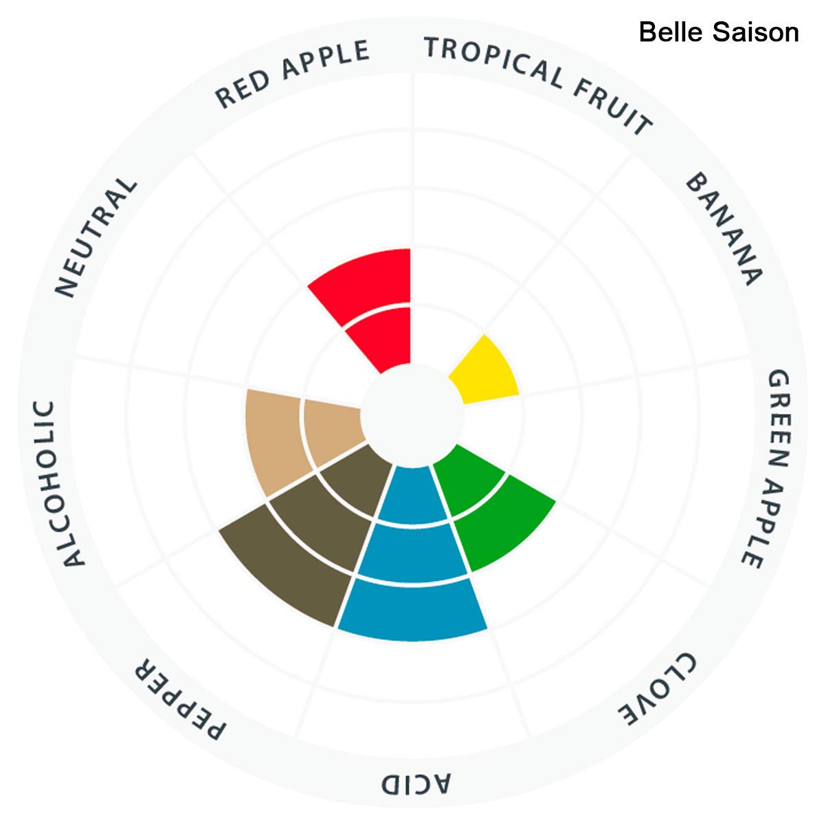 Levedura Fermento Cerveja Lallemand Belle Saison 11g