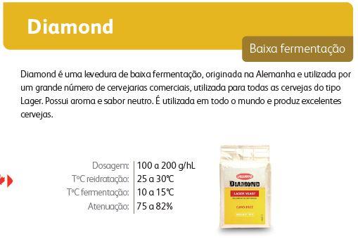 Levedura Fermento Cerveja Lallemand Diamond 11g