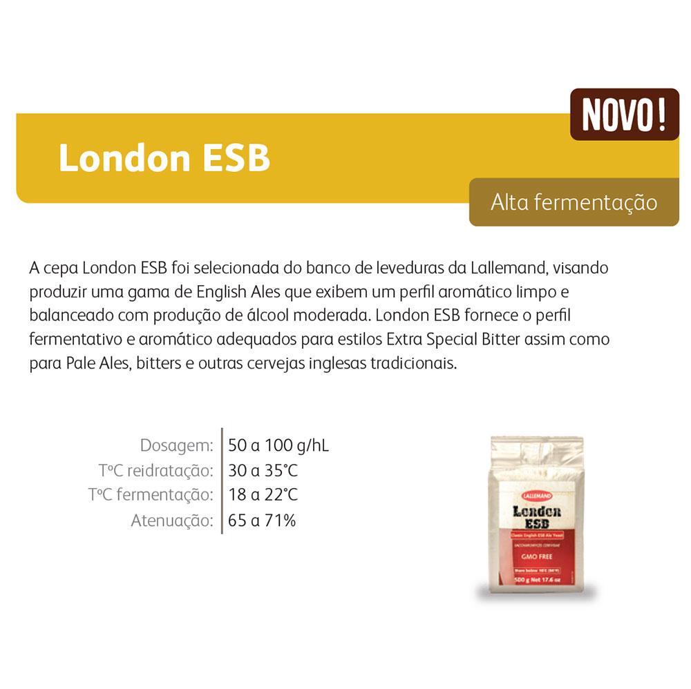 Levedura Fermento Cerveja Lallemand London ESB 11g