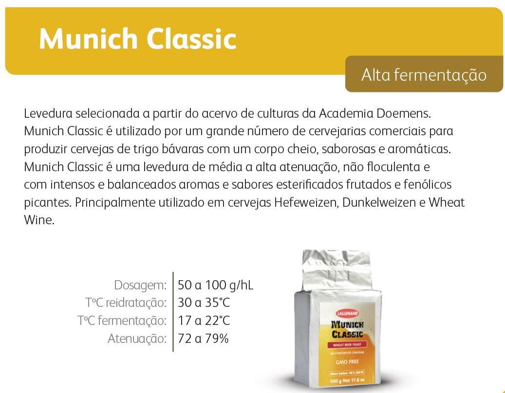 Levedura Fermento Cerveja Lallemand Munich Classic 11g