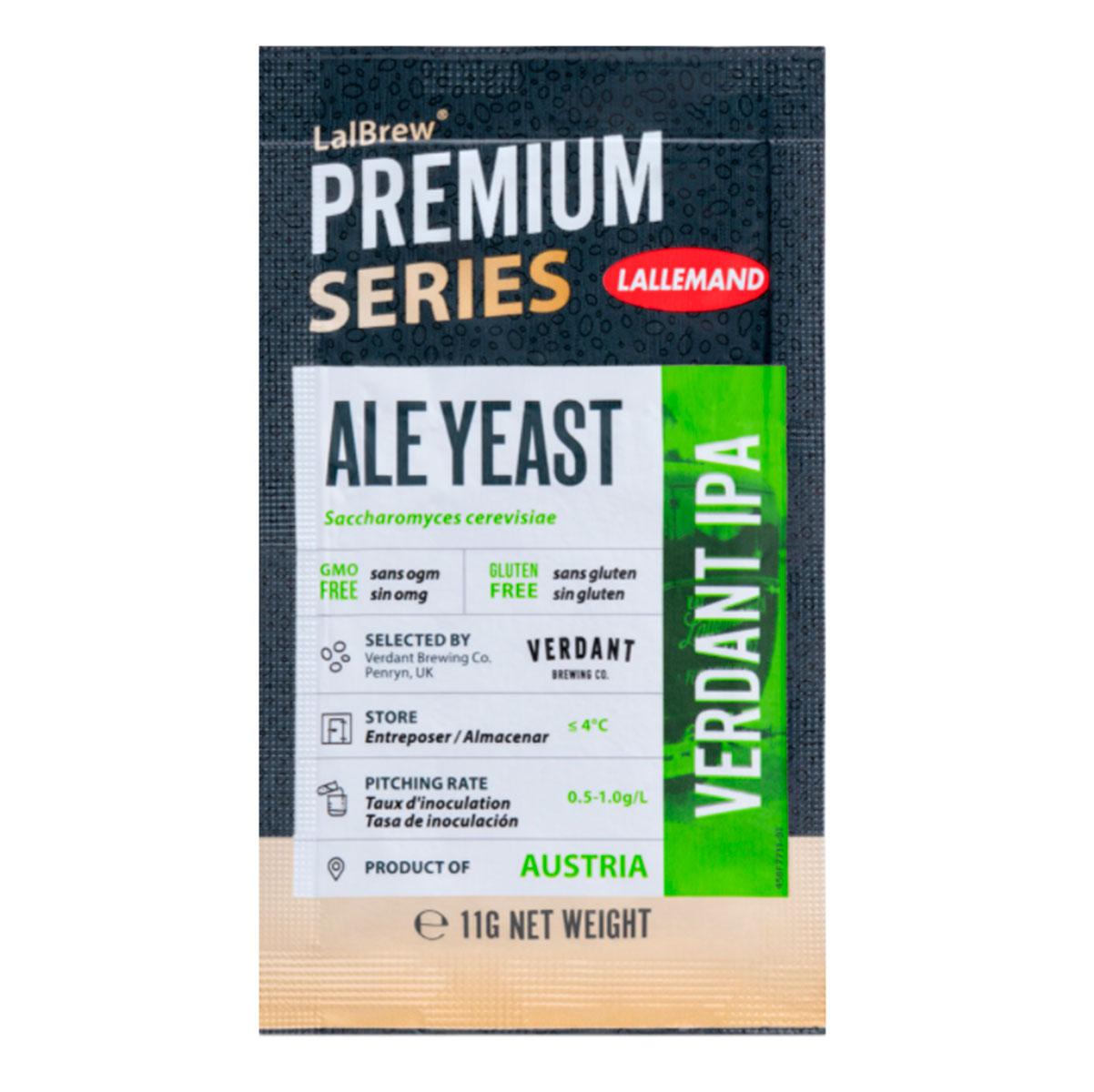 Levedura Fermento Cerveja Lallemand Verdant IPA 11g