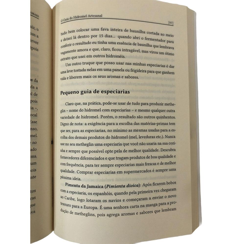 Livro Guia do Hidromel Artesanal