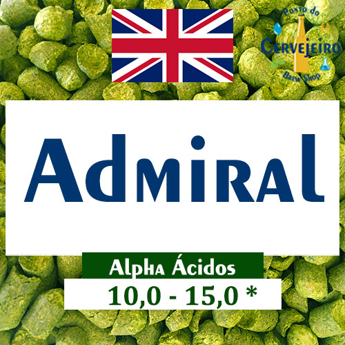 Lupulo Admiral (Barth Hass) Pellet T90 - 50g