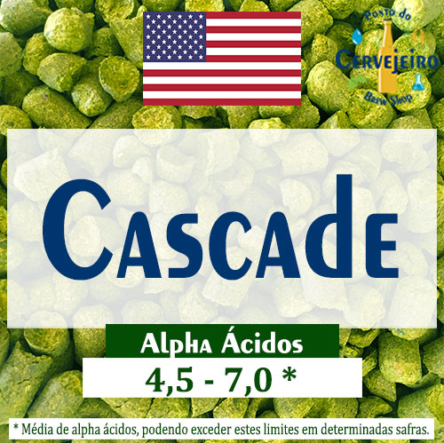 Lupulo Cascade (Barth Hass) Pellet T90 - 50g