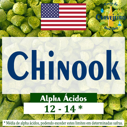 Lupulo Chinook (Barth Hass) Pellet T90 - 50g