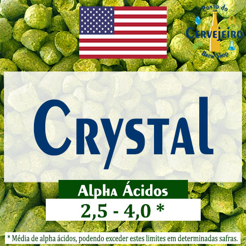 Lupulo Crystal (Barth Hass) Pellet T90 - 50g