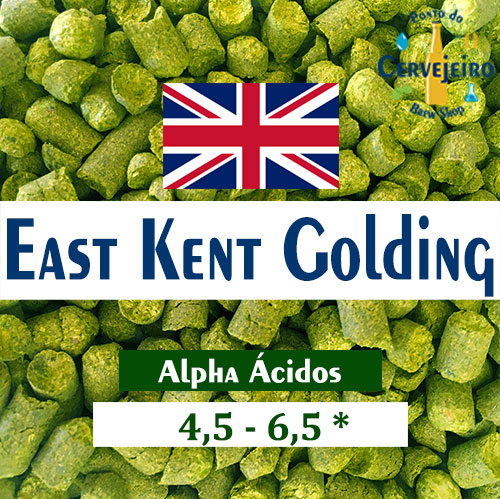Lupulo East Kent Golding (Barth Hass) Pellet T90 - 50g