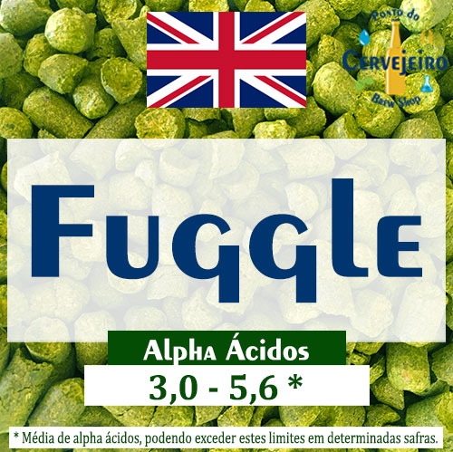 Lupulo Fuggle (Barth Hass) Pellet T90 - 50g