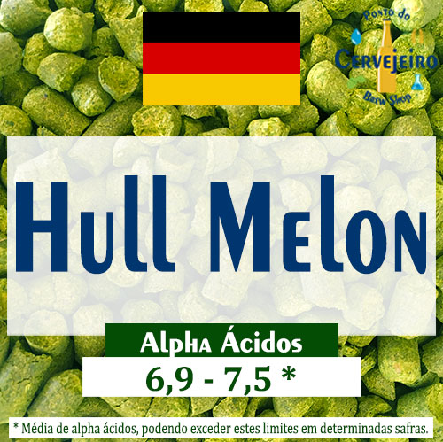 Lupulo Hull Melon (Barth Hass) Pellet T90 - 50g