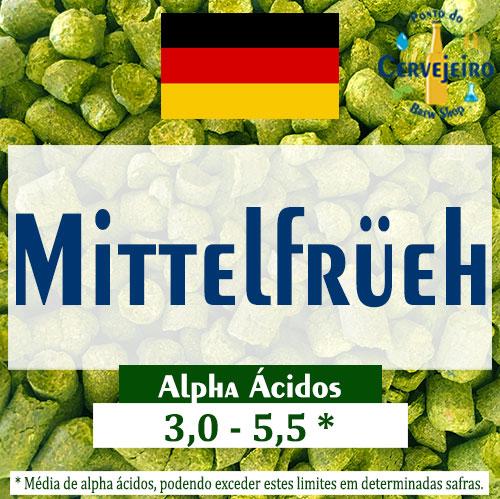 Lupulo Mittelfrueh (Barth Hass) Pellet T90 - 50g