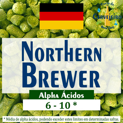 Lupulo Northern Brewer (Barth Hass) Pellet T90 - 50g