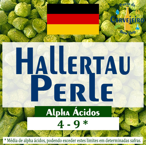 Lupulo Perle (Barth Hass) Pellet T90 - 50g