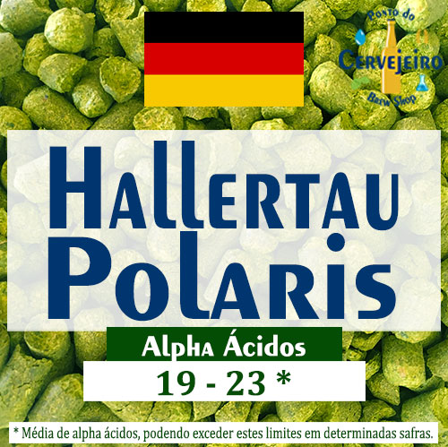 Lupulo Polaris (Barth Hass) Pellet T90 - 50g