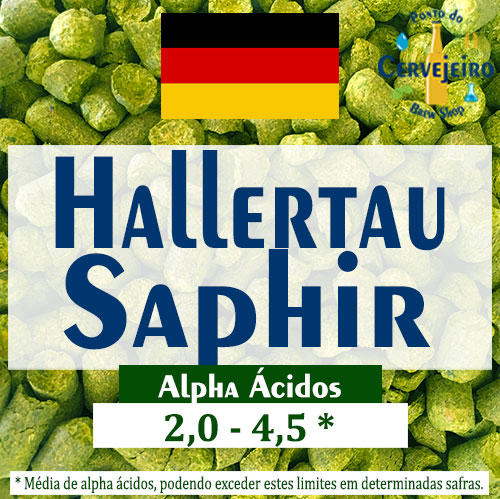 Lupulo Saphir (Barth Hass) Pellet T90 - 50g