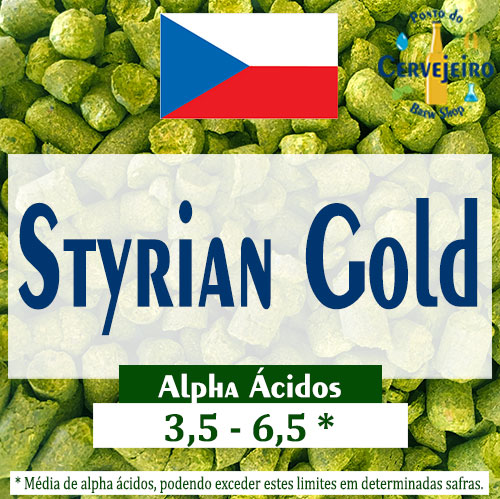 Lupulo Styrian Gold (Barth Hass) - 50g