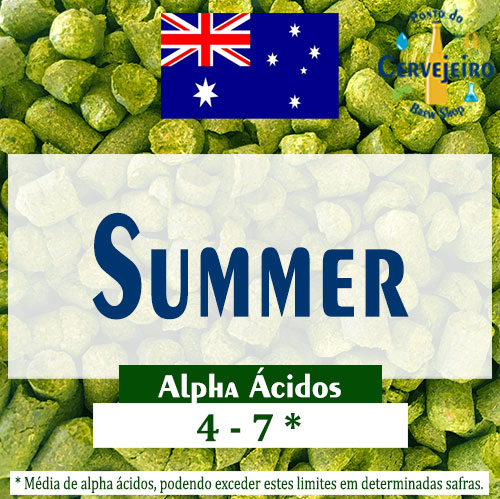 Lupulo Summer (Barth Hass) Pellet T90 - 50g