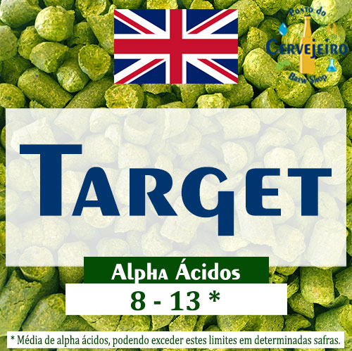 Lupulo Target (Barth Hass) Pellet T90 - 50g